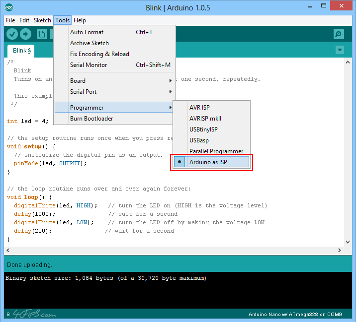 Arduino nano ide download
